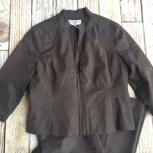 Sharagano Suits full pant suit size 12
