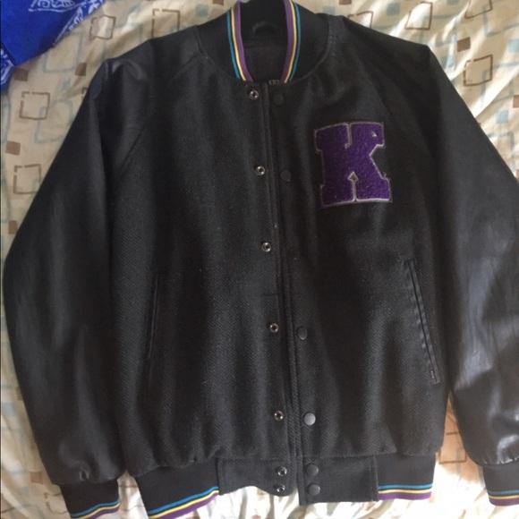 Kr3w leather jacket