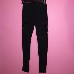 Love Culture Pants - Studded Cross Leggings