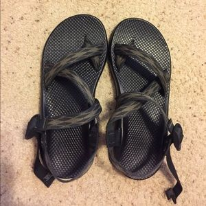 Chaco Other - Men's Navy and Green Chachos