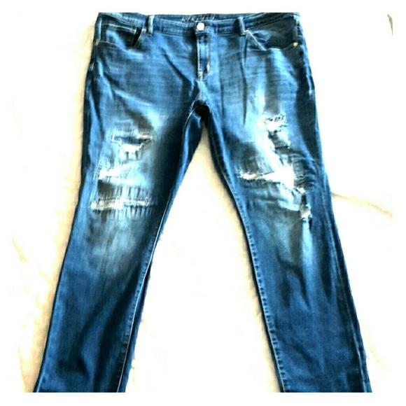 07084d83215 Ava   Viv Denim - AVA   VIV Plus Size Skinny Jeans