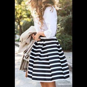 chicwish Dresses & Skirts - Chicwish nautical skirt, never worn, size M