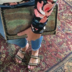 Urban Expressions Handbags - Snakeskin clutch/crossbody