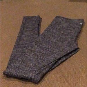 lululemon athletica Pants - Lululemon wonder under space grey yoga pants 4