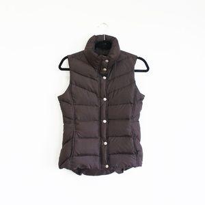 J. Crew Jackets & Blazers - Puffer Snap Vest, J. Crew