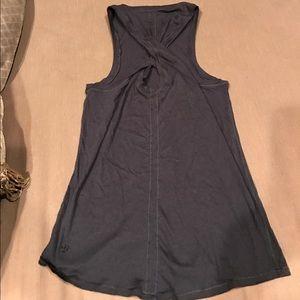 lululemon athletica Tops - Lululemon black high neck tank crisscross back 2