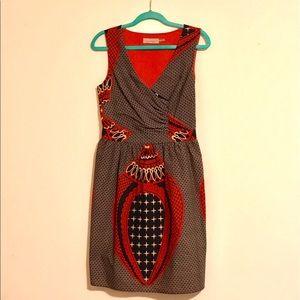 Burlapp A-line dress