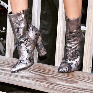 Style Link Miami Shoes - METALLIC BOOTIES