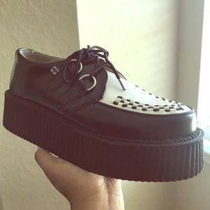 T.U.K platform shoes