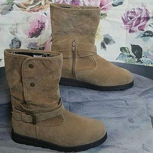 "Muk Luks Shoes - Mukluks Camel ""Jess Boot"""