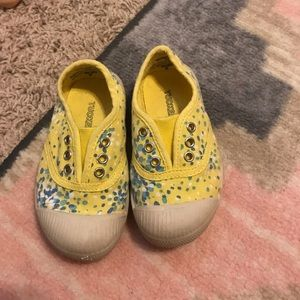 Tucker + Tate Other - Tucker and Tate yellow toddler shoes