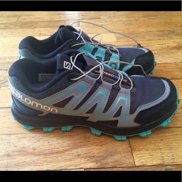 0f5ee7412ab9 Salomon Women s Speedtrak Trail Running Shoes
