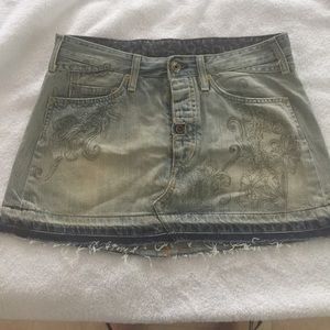 Replay Dresses & Skirts - Replay jeans skirt size 28