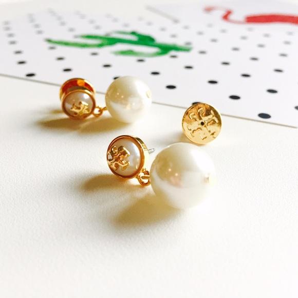 f91e2d557 Tory Burch Jewelry   Spring Saletory Butch Pearl Drop Earrings ...