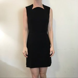 Theysken's Theory Dresses & Skirts - Theyskens' Theory Black Structured Darted Dress