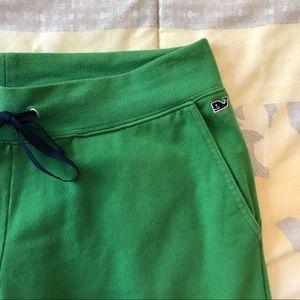 Vineyard Vines Pants - vineyard vines green sweatpants