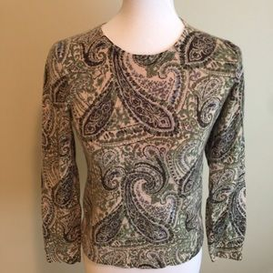 Charter Club Sweaters - Charter Club 100% Cashmere Sweater Medium Paisley