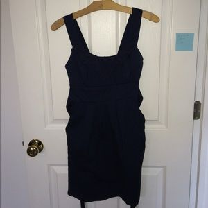 Trixxi Dresses & Skirts - Navy blue dress with lace