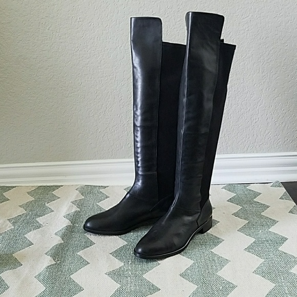 781b635729a  Ted Baker  Shade black suede leather boots Size 8