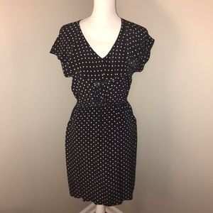Presley Skye Dresses & Skirts - Presley skye small polka dot silk dress