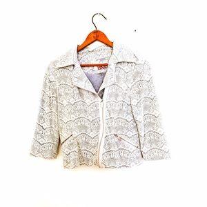 BKE Jackets & Blazers - BKE Buckle Lace Moto Jacket