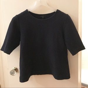 COS Tops - COS Textured Cropped Top