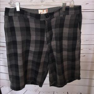 """Other - Men's shorts. OP, 38"""" waist. Black and gray."""