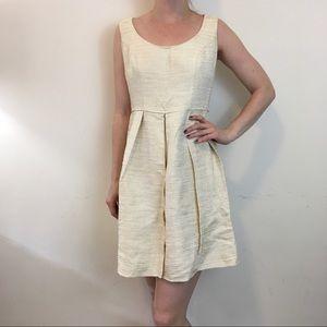 Shoshanna Dresses & Skirts - Shoshanna Yellow Golden Knit Pleated Dress