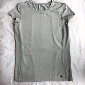 Alo Yoga Grey Coolfit Mesh Back Top