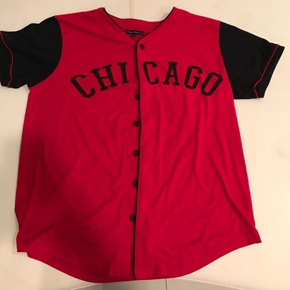designer fashion f6401 c730d Chicago 23 Baseball Jersey (URBAN NATION)