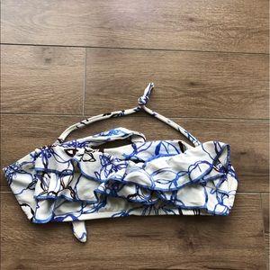 Mossimo target Floral bikini top bra