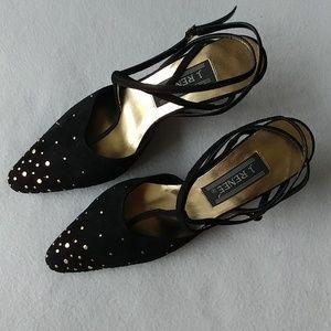J. Renee Shoes - Studded Heels - J. Renee