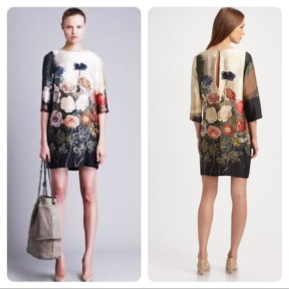 Stella McCartney Dresses | Anemone Silk Dress | Poshmark