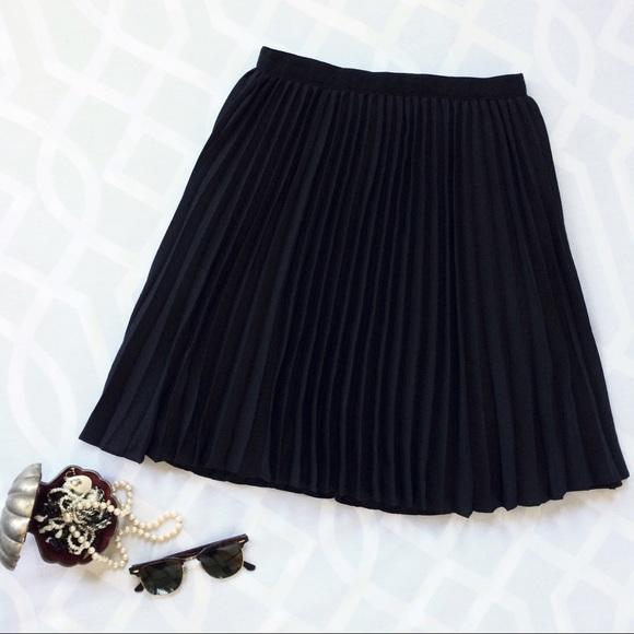 jason wu jason wu for target black crepe pleated skirt