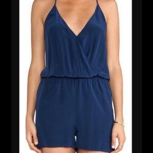 Rory Beca Dresses & Skirts - Rory Becca Turquoise Silk Romper M