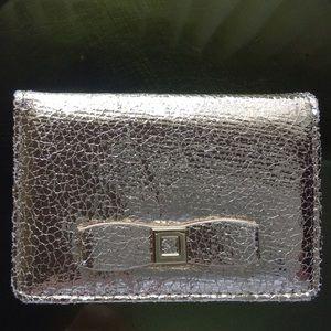 Gold credit card holder