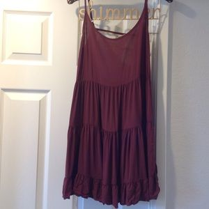 Brandy Melville Dresses & Skirts - Brandy Melville Burgandy dress
