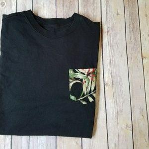 HUF Other - HUF Black Floral Pocket T-shirt