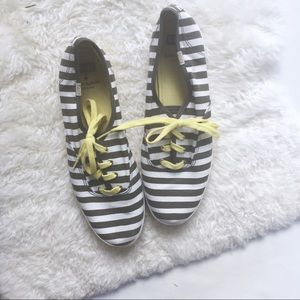 Keds for Kate Spade striped sneakers