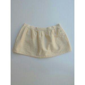 Heritage Dresses & Skirts - Heritage Yellow & White Seersucker Mini Skirt 5