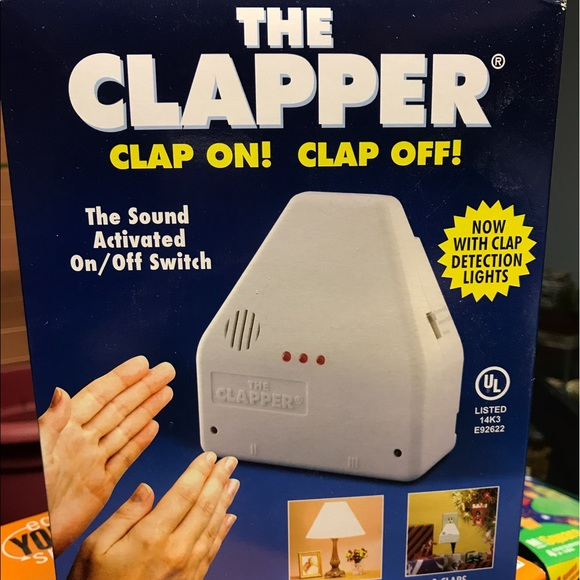 The Clapper Light As Seen On TV