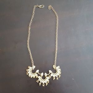 Jewelry - Gold and Jeweled Indian Necklace