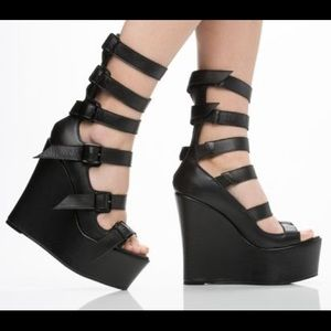 YES Shoes - YES Tigers Eye -- black