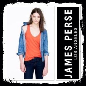 James Perse Tops - Standard James Perse coral tank