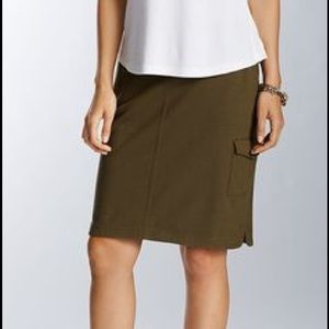 Eileen Fisher Dresses & Skirts - Eileen Fisher Straight Cargo Skirt Petite Large
