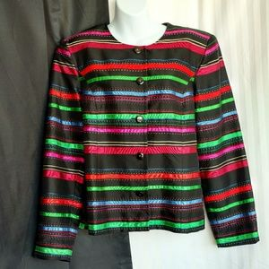 Coldwater Creek Jackets & Blazers - Coldwater Creek multicolored jacket