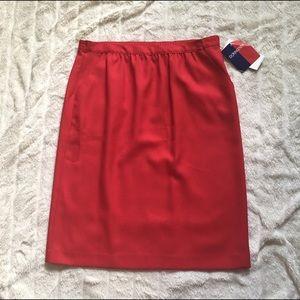 Donnkenny Dresses & Skirts - Donnkenny Classics Red Skirt