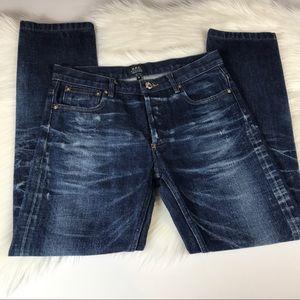 A.P.C. Denim - APC The Petit Standard Straight Leg Jeans