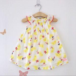Catimini Other - Catimini Lemons & Flamingos Summer Dress sz 18M-8Y