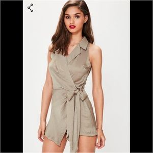Missguided romper jumpsuit